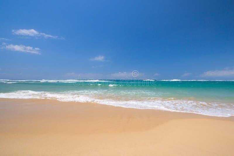 Scène paisible de plage photo libre de droits