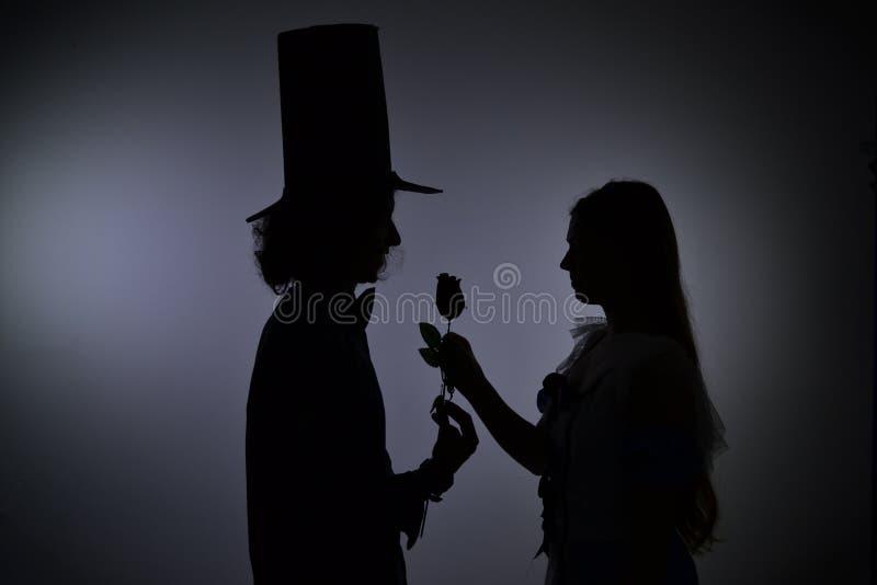 Scène romantique images libres de droits