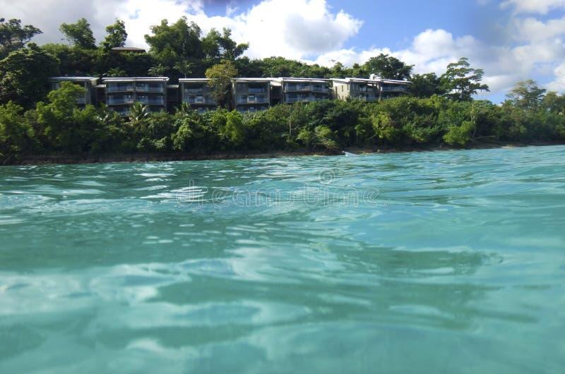 Scène van Haven Vila Harbour, Efate, Vanuatu royalty-vrije stock afbeelding