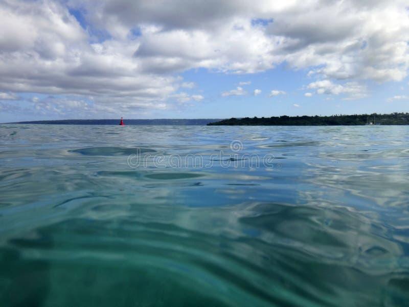 Scène van Haven Vila Harbour, Efate, Vanuatu stock fotografie