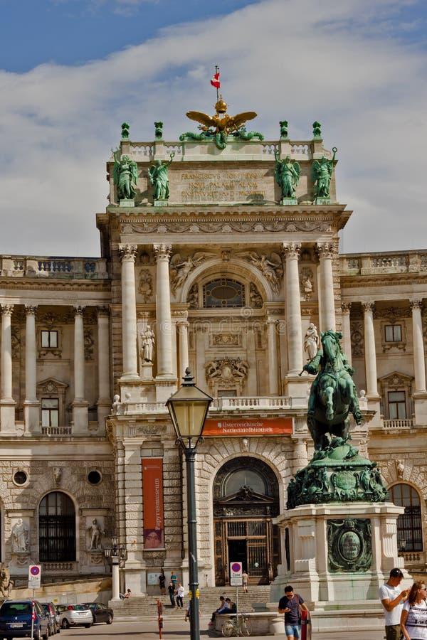 Scène in Wenen, Oostenrijk royalty-vrije stock fotografie