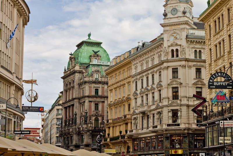 Scène in Wenen, Oostenrijk royalty-vrije stock afbeeldingen