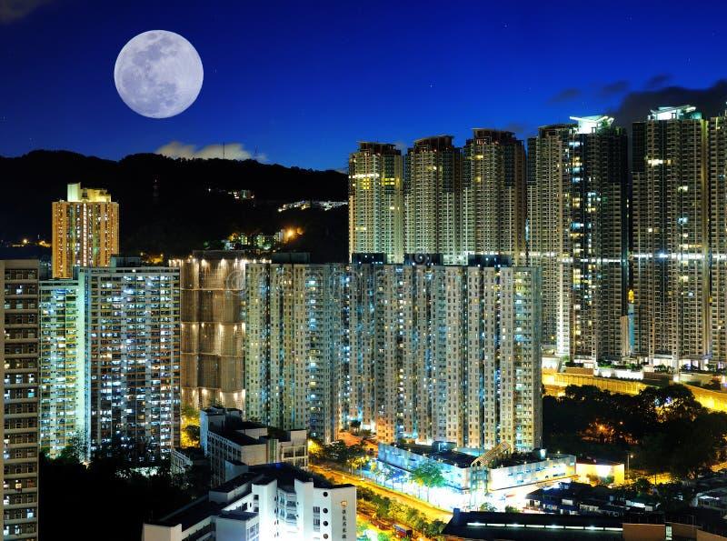 Scènes de nuit de ville images libres de droits