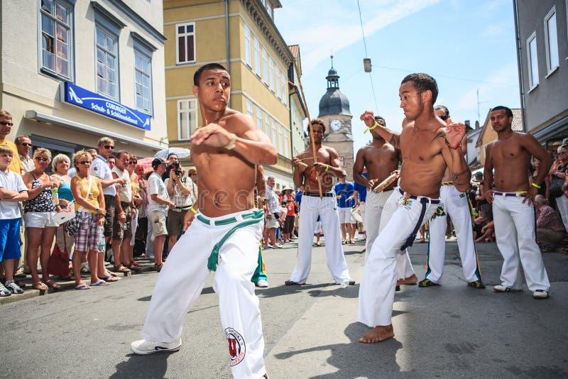Scènes van Samba royalty-vrije stock foto