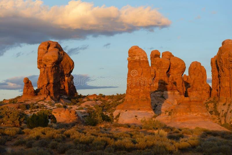 Scènes van Utah stock fotografie