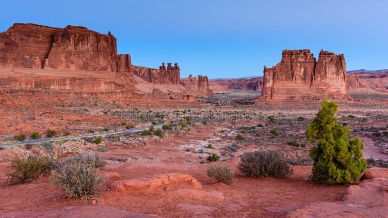 Scènes van Utah royalty-vrije stock foto's