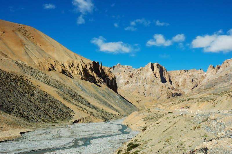 Scénique de l'Himalaya photographie stock libre de droits