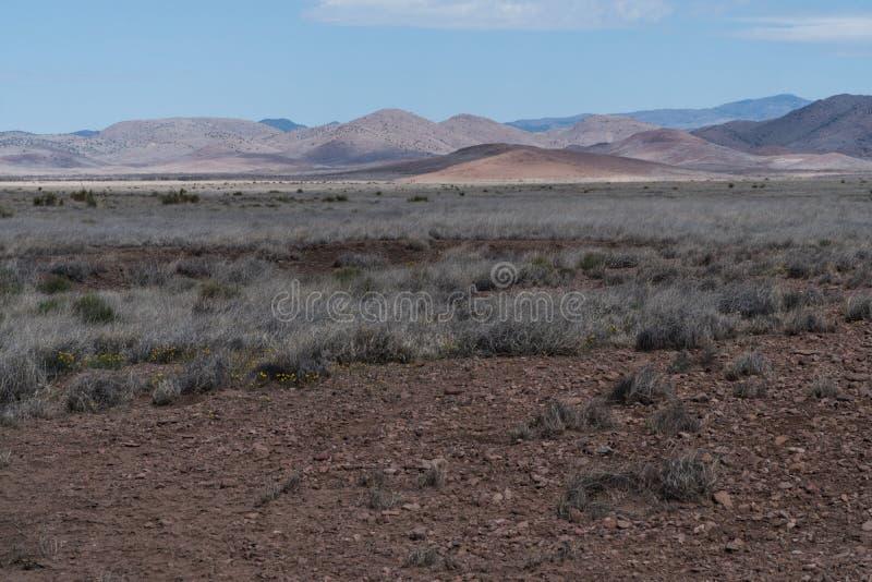 Sc?nique de la route 27, Nouveau Mexique images stock