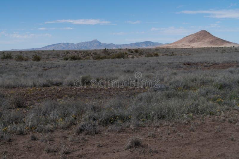 Scénique de la route 27, sud-ouest Nouveau Mexique image stock