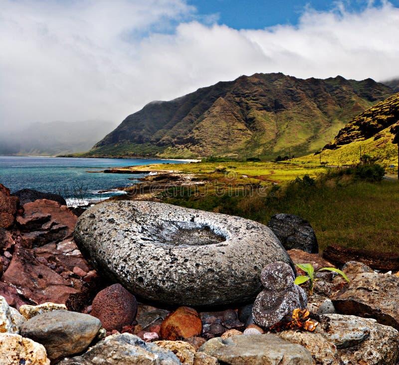 Scénique hawaïen photographie stock