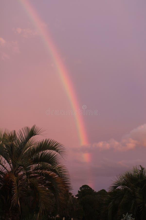 Sc d'île de Johns de coucher du soleil photo libre de droits