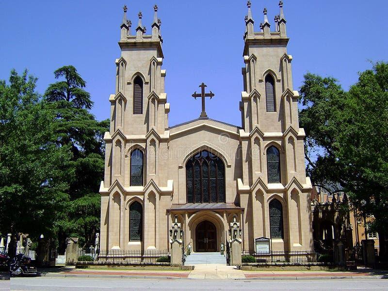 SC da igreja episcopal fotografia de stock royalty free