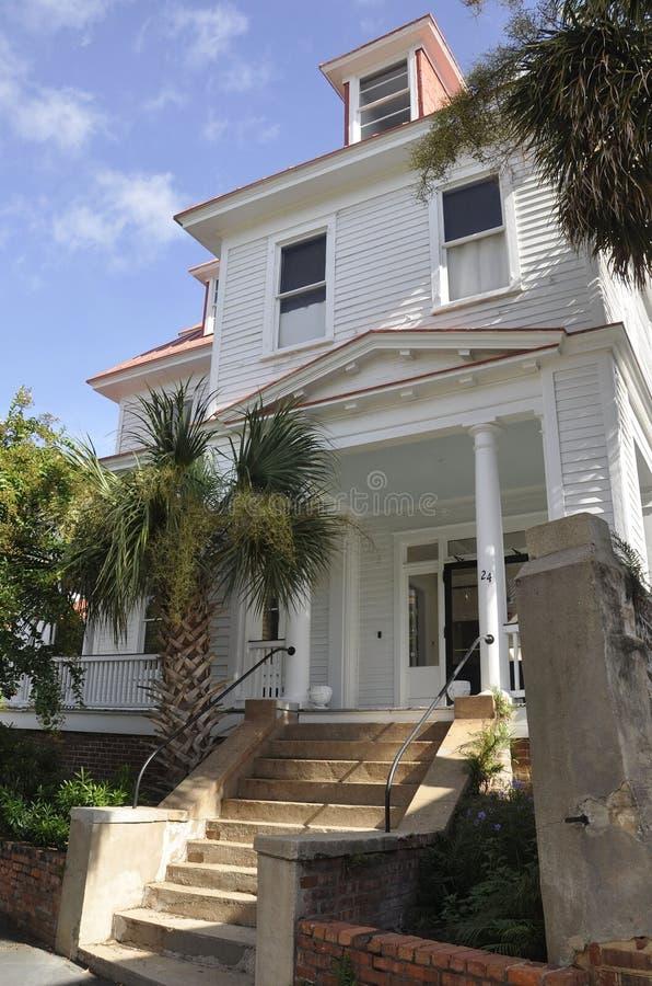 Sc di Charleston, il 7 agosto: Camera storica da Charleston in Carolina del Sud fotografie stock