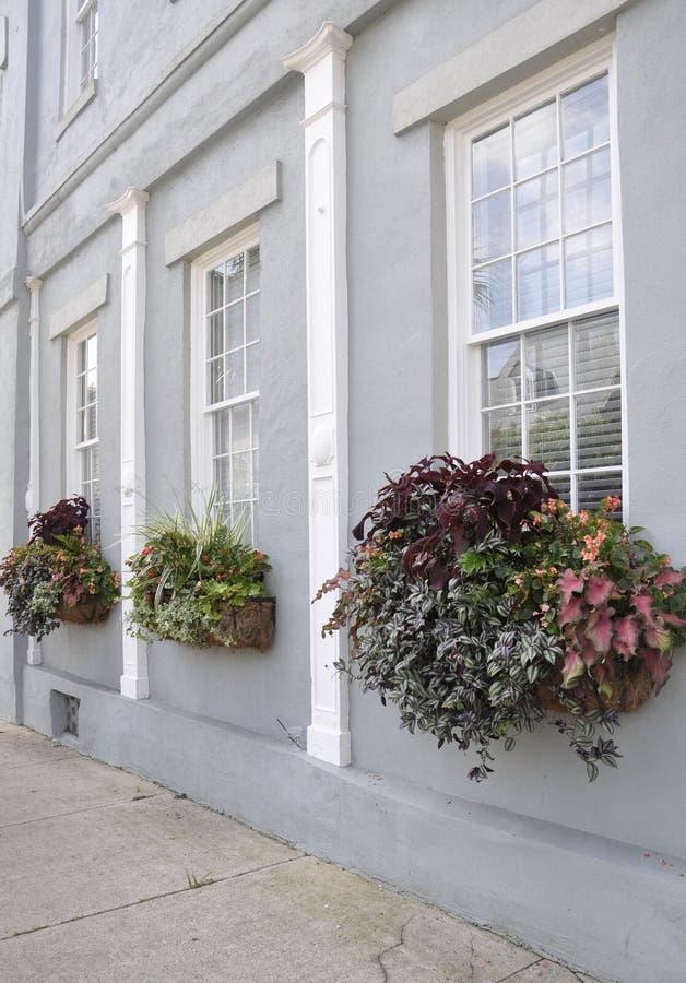 Sc di Charleston, il 7 agosto: Dettagli storici della Camera da Charleston in Carolina del Sud fotografie stock libere da diritti