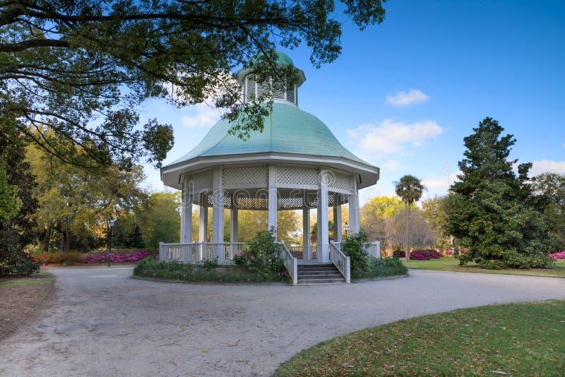 Sc Hampton Park Gazebo di Charleston fotografia stock libera da diritti