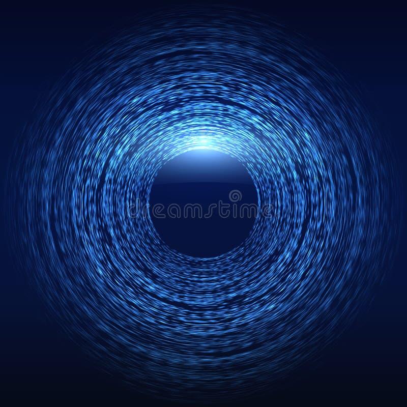 sc.i-FI de Abstracte Achtergrond van de Matrijs Futuristische Technologie royalty-vrije illustratie