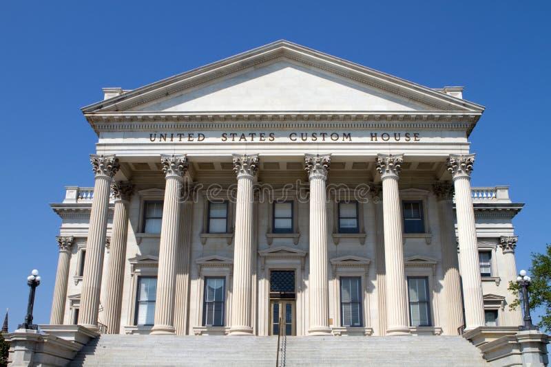 Sc van Charleston van het Huis van de Douane van de V.S. stock foto