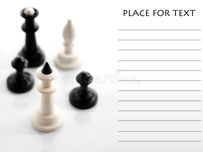 Download Scacchi Quattro Su Priorità Bassa Bianca Immagine Stock - Immagine di successo, regina: 7309031
