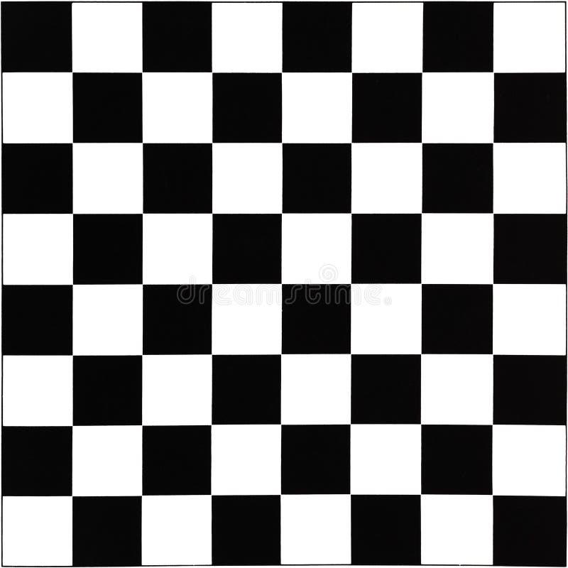 Scacchiera in bianco e nero immagini stock libere da diritti