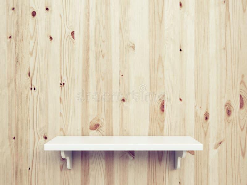 Scaffale di legno illustrazione di stock