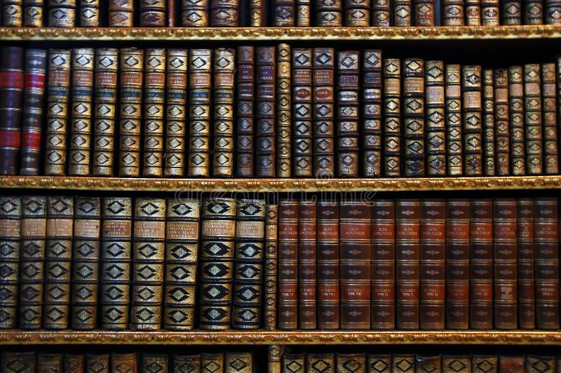 Scaffali per libri antichi fotografie stock libere da diritti