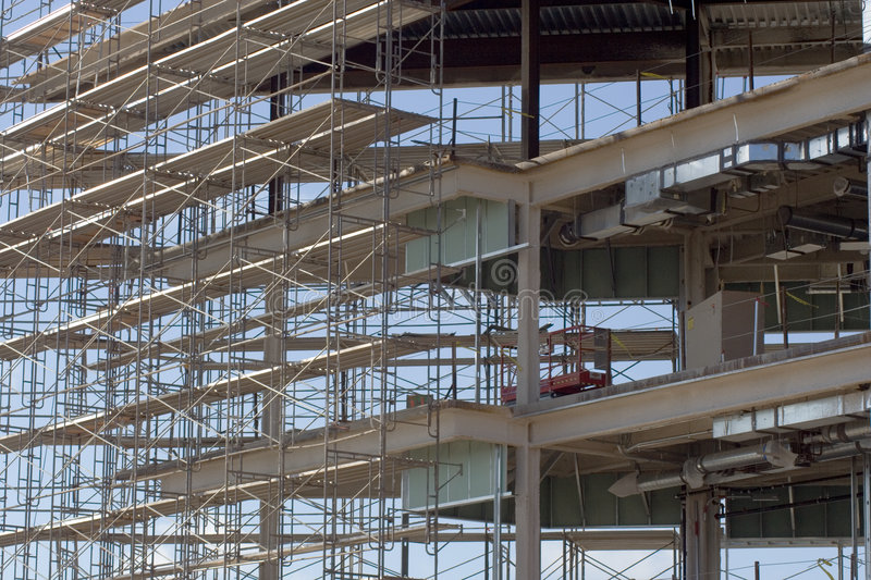 Download Scaffold 2 stock photo. Image of engineer, construction - 831864