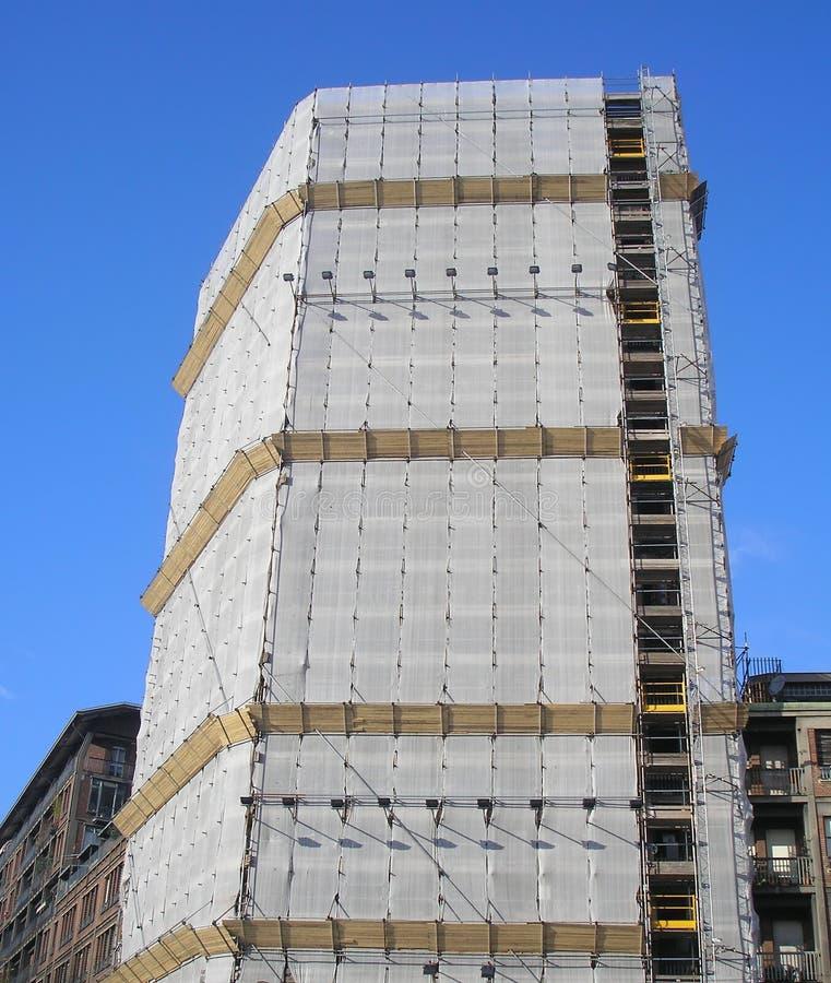 scaffold arkivfoton