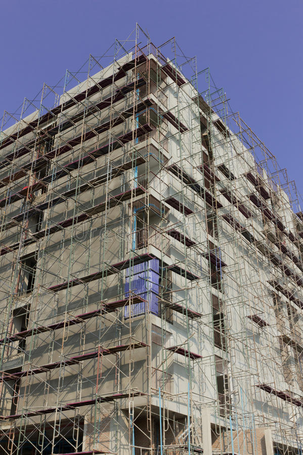 Scaffold For Building Stock Photography
