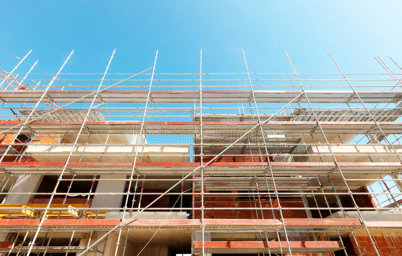 Scaffold royalty free stock images