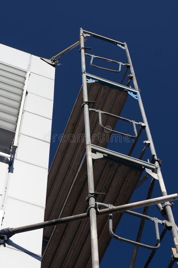 Scaffold detail stock image
