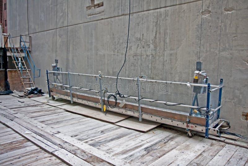 Download Scaffold platform stock image. Image of high, asbestos - 18904155