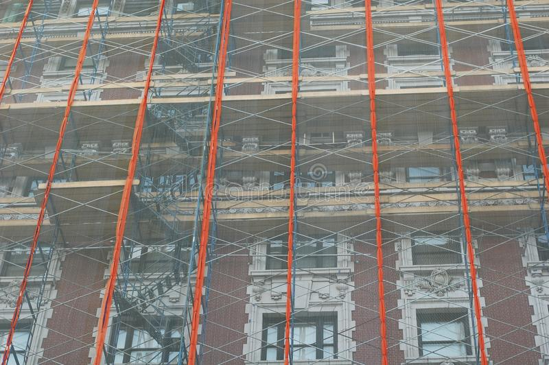 Download Scaffolding stock photo. Image of home, drape, repair - 21225600