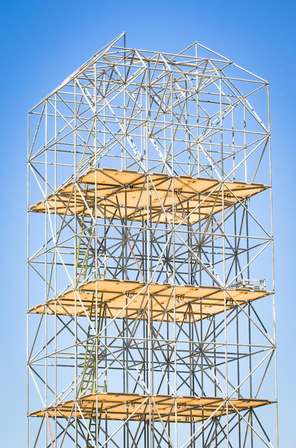Download Scaffolding stock image. Image of architecture, construction - 28869673