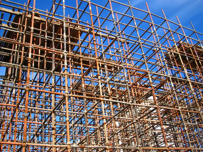 Download Scaffolding Royalty Free Stock Photo - Image: 3868235