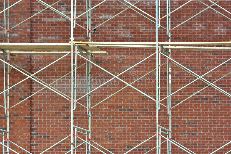 Download Scaffolding stock photo. Image of commercial, safe, scaffold - 4336218