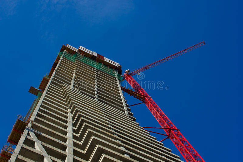 Download Scaffolding, Construction Site Stock Image - Image: 21432343