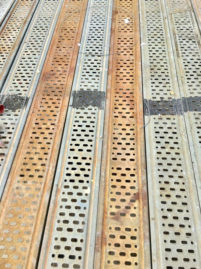 Scaffolding floor stock photography
