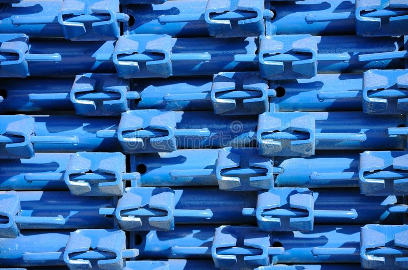 Scaffolding rack royalty free stock image