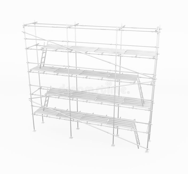 Free Scaffolding, White Stock Image - 11689201