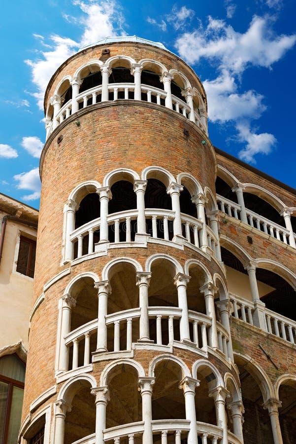 Scala Contarini del Bovolo - Venezia Ιταλία στοκ εικόνες