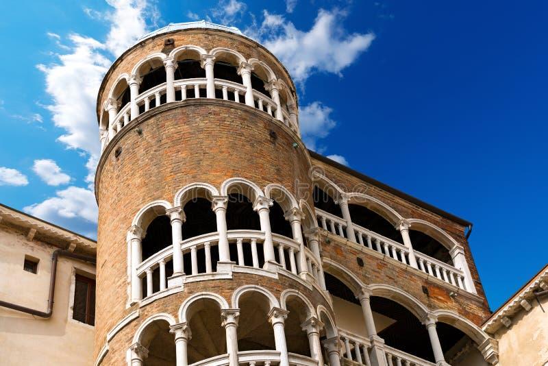 Scala Contarini del Bovolo - Venezia Ιταλία στοκ φωτογραφίες με δικαίωμα ελεύθερης χρήσης