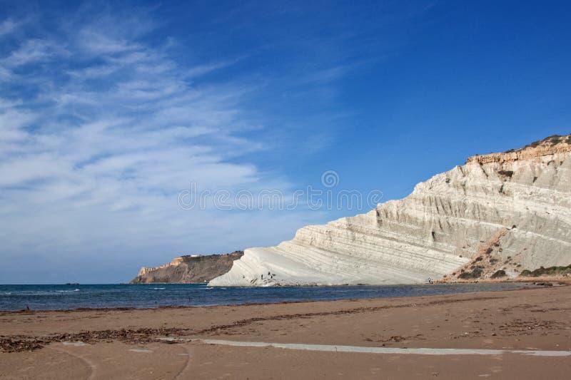 Download Scala dei Turchi stock photo. Image of seascape, italy - 22877890