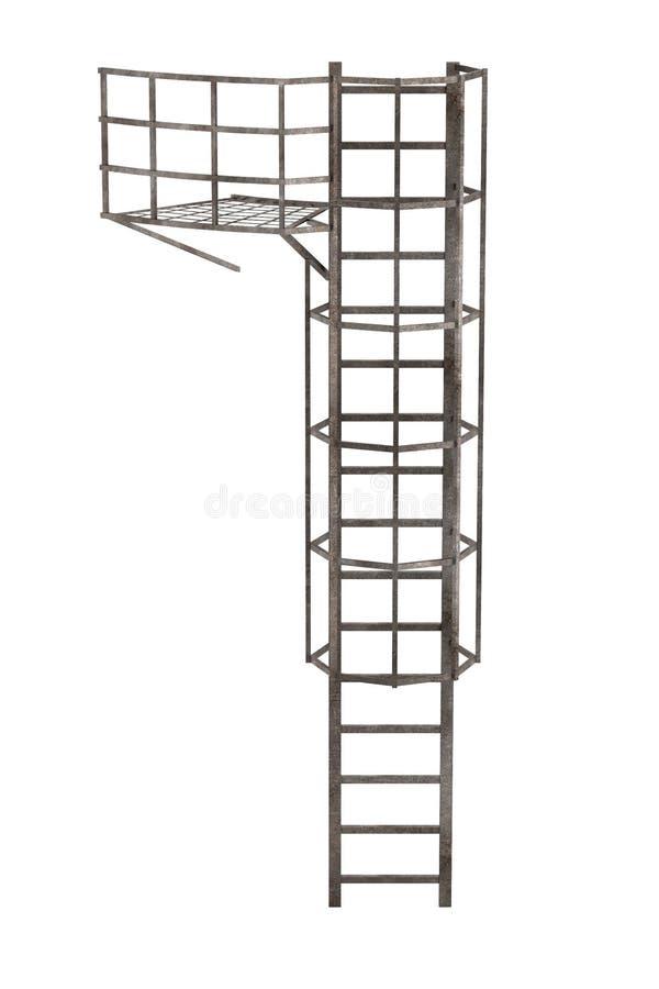 Scala del camino illustrazione di stock