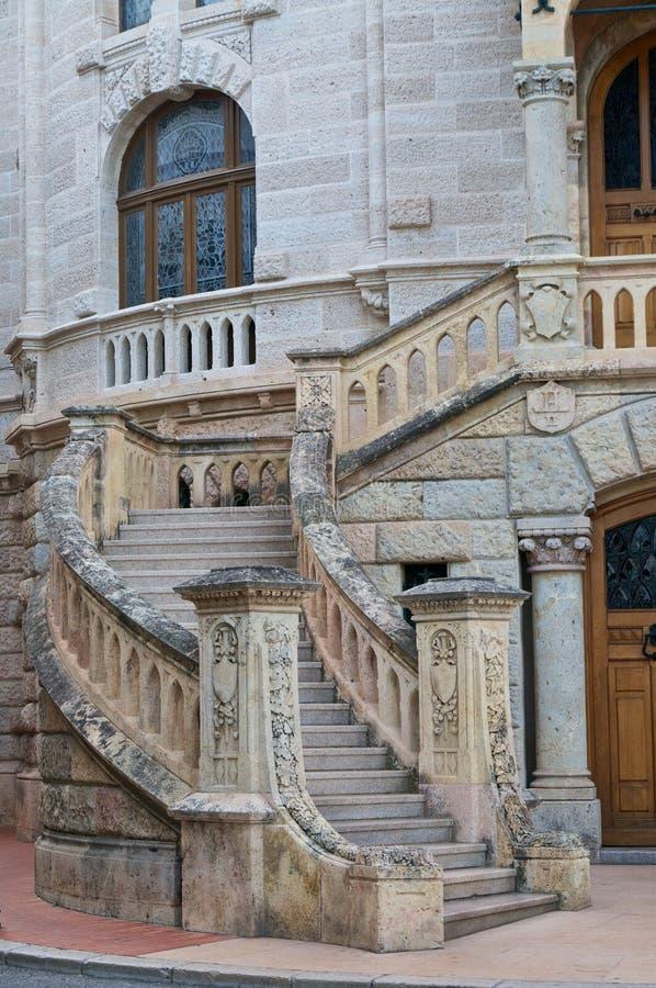 Scala del Monaco fotografie stock libere da diritti