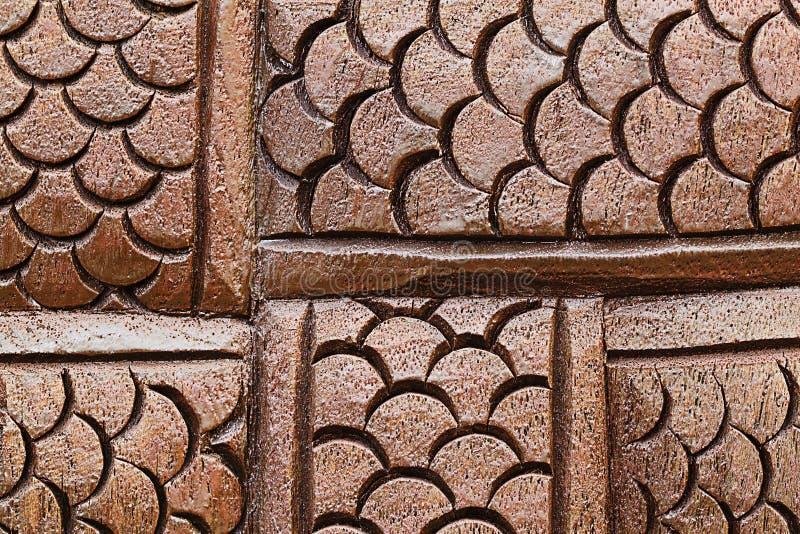 Scala di legno del Naga per il modello ed il fondo fotografie stock libere da diritti