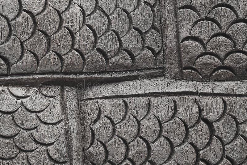 Scala di legno del Naga per il modello ed il fondo fotografia stock libera da diritti