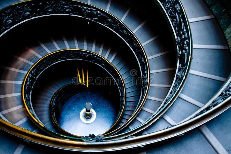 Scala di Vatican immagine stock libera da diritti