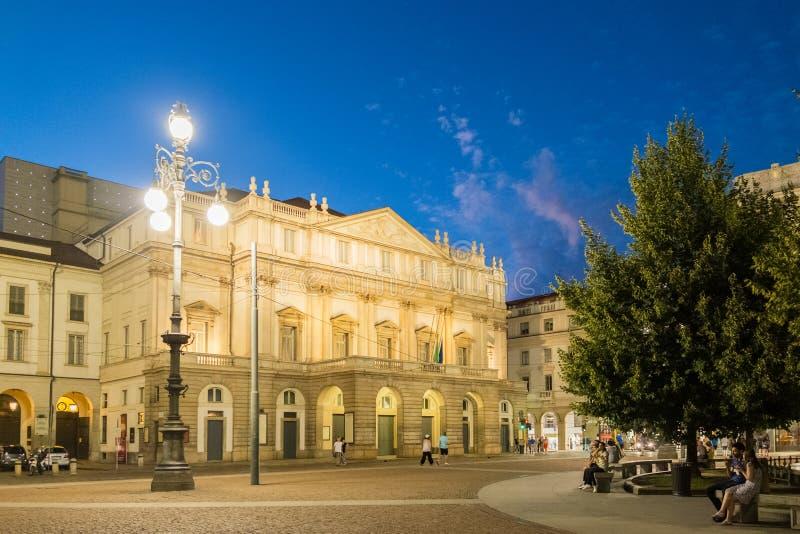 Scala do alla de Teatro fotos de stock royalty free