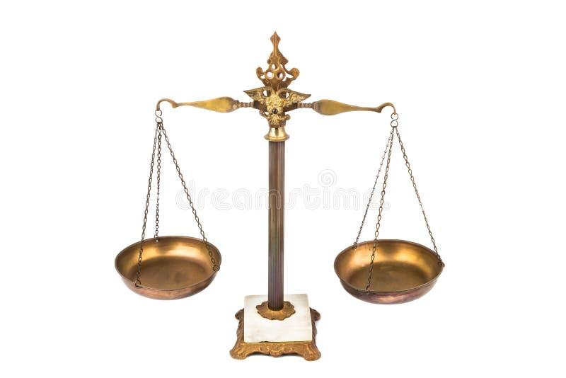 Scala equilibrata immagine stock