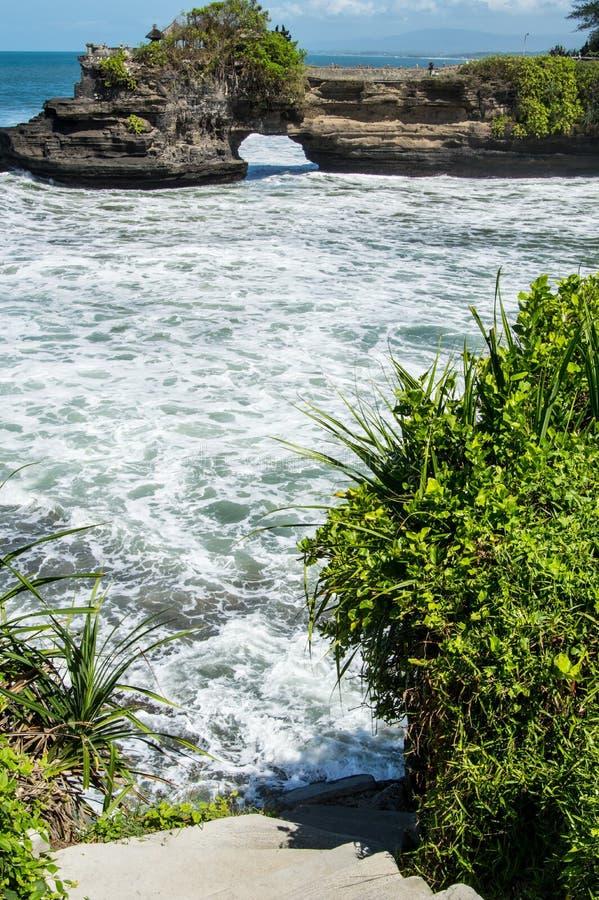 Scala a Pura Batu Bolong, Bali immagini stock libere da diritti